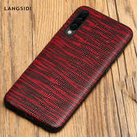 Luxo Genuine leather Case Telefone Para Samsung Galaxy A50 A51 A70 A71 A80 A30 A7 A8 Nota 10 9 S20 Ultra S10 S7 S8 S9 Mais cobertura s20 Plus S10E S8 Plus S7 Edge Note 10 Plus 9 A10 A20 A40 A30 A80 A50S A7 A8 2018