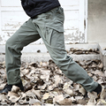 New IX9 Shark Skin Soft Shell Military Tactical Pants Men Waterproof Heat Reflection Outdoors Work Cargo Army Pants Casaul Black