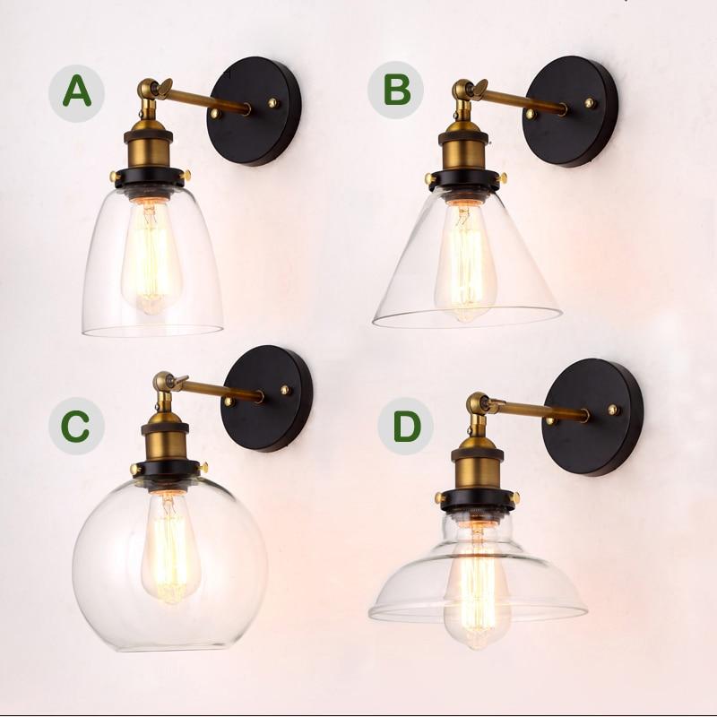 Precio al por mayor Loft Vintage Industrial Edison Lámparas de pared - Iluminación interior - foto 6