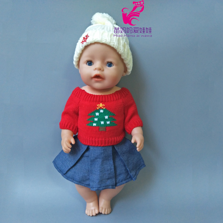 Zapf Baby Born Coat sweater hat jeans dress fit 18 Inch American girl doll Clothes sets Children best Birthday Gift 9 colors american girl doll dress 18 inch doll clothes and accessories dresses