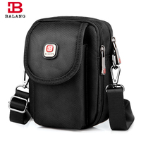 BALANG Brand Men S Black Messenger Bag Fashion Waterproof Light Weight High Quality Crossbody Bags Men