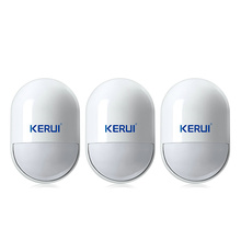 Free shipping P829 KERUI Intelligent Wireless PIR Motion Detectors Sensor For G11 G18 G19 GSM Alarm System Home Security