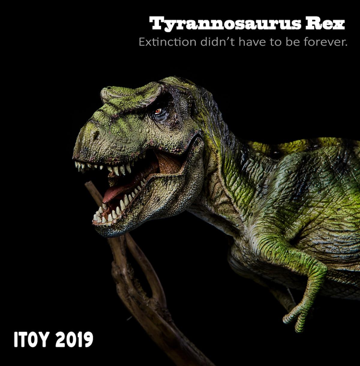 2019Year New Version ITOY Jurassic Dinosaur Model Tyrannosaurus Rex