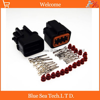 8 Pin Male Female Auto Head Lamp Headlights Connector KUM Car Waterproof Electrical Connector For HYUNDAI