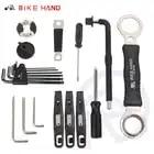 18 in 1 Strumenti di Riparazione di Biciclette Kit Box Set Multiuso MTB Pneumatico Catena di Strumenti di Riparazione Spoke Wrench Kit Hex Cacciavite utensili per biciclette - 5