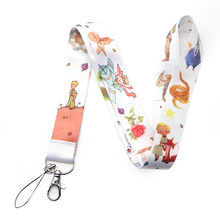 Little Fox and Prince Lanyard Keychain Lanyards for Key Badges ID Cell Phone Rope Neck Straps Accessories Gifts mbr cell power neck