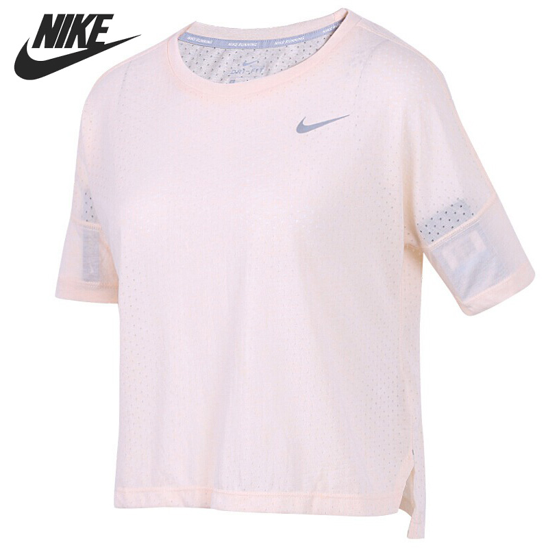 где купить Original New Arrival 2018 NIKE TAILWIND TOP SS COOL Women's T-shirts short sleeve Sportswear дешево