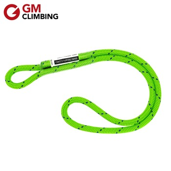 6mm Tree Climbing Rope 12in Prusik Loop Cord Polyester Safety Rope Rescue Rigging Rappelling Mountaineering Equipment mool heng shuo rock climbing safety harness belt tree carving arborist rappelling fall arrest