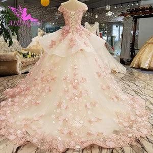 Image 5 - AIJINGYU טורקיה כלה שמלת שמלות הודי Sheer Robe אמא של הכלה במסיבה שני באחד שמלת כלה קטנה שמלות