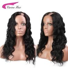 Carina Brazilian Body Wave 2*4 size U Part Lace Front Wigs N