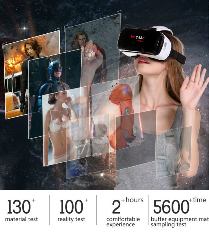 Virtual Reality Glasses VR Box Rirtual Reality Helmet Touch Function 3D Glasses VR Wearing Equipment 11