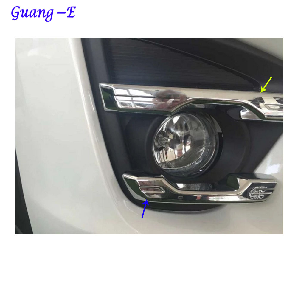New Sport ABS Chrome Front Light Lamp Trim For Mazda CX-5 2013-2016