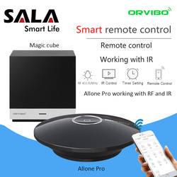 Orvibo EU Socket MagicCube Allone Pro Smart Remote Control Automation Systems WiFi IR Hub Controller by iOS Smartphone Android