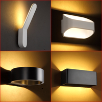 Modern LED fixtures Nordic Corridor aisle Wall lights living room sconces bedroom bedside lighting waterproof outdoor Wall Lamps