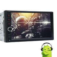 Newest Android 6 0 Car NO DVD Tape Recorder Radio Stereo Capacitive Screen HD 1080p GPS