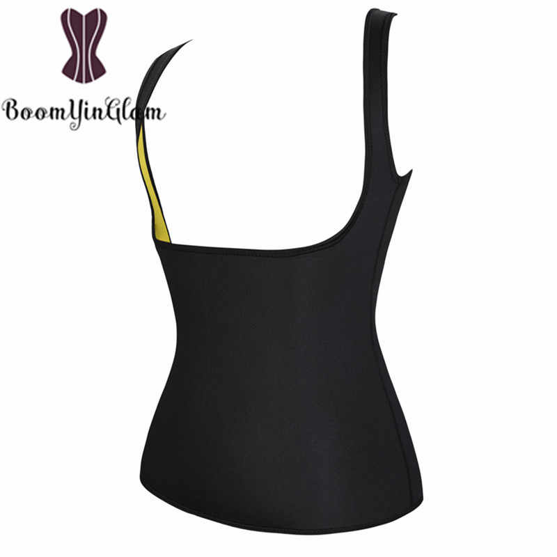 7b34312eadb ... Shoulder Straps Thermo Hot Shapers Neoprene Women Body Slimming  Shapewear Waist Trainer Sweat Sauna Vest for ...