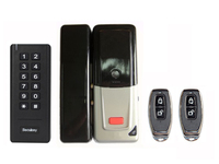 D2 Free Shipping 500 PIN/card Users Wireless DIY Lock Kit With 125 KHz EM Card
