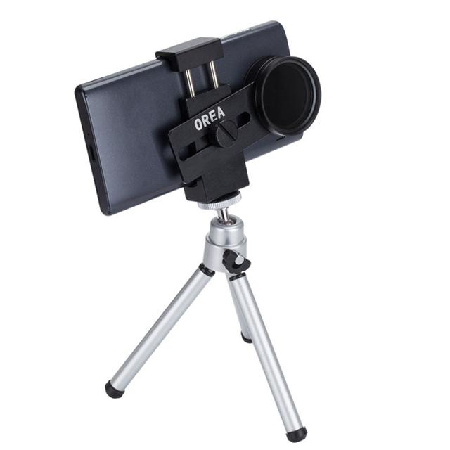 SY8 câmera do telefone Zoom Len Rodada lente Reduzindo lente de luz 1-9 Tenda ajustável ND2-400 + clipe de volta + tripé clipe universal