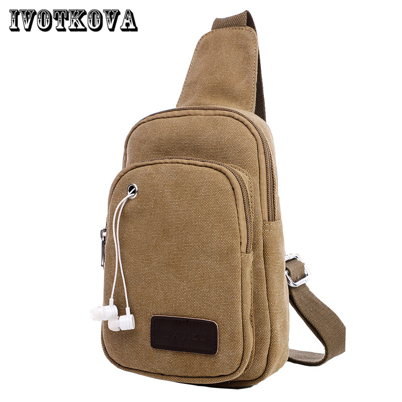 IVOTKOVA Hot Sale Travel Casual Sling Messenger Chest Bag High Quality Men Canvas Bag Pack Cross Body Bag 2017 Women Funny Pouch travel casual sling messenger chest bag high quality men canvas bag pack canvas crossbody sling bag for ipad