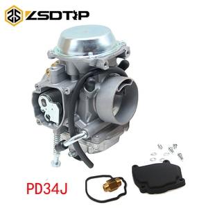Image 1 - ZSDTRP PD34J Carburetor For Polaris Sportsman 700 4x4 MV7 HAWKEYE 300 400 SCRAMBLER 400 500 BIG BOSS 500 ATV QUAD CARB