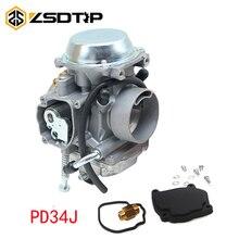 ZSDTRP PD34J คาร์บูเรเตอร์สำหรับ Polaris Sportsman 700 4x4 MV7 HAWKEYE 300 400 SCRAMBLER 400 500 BIG BOSS 500 ATV QUAD CARB
