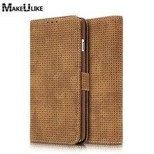 Новый Стиль кошелек чехол для iPhone 7/7 Plus откидная крышка Ретро Кожа Телефон сумка чехол для Apple IPhone7 7 плюс Чехол