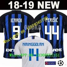 81e891e2d Best quality 18 19 Inter Milan home soccer jersey 2018 JOVETIC ICARDI  PALACIO CANDREVA away white