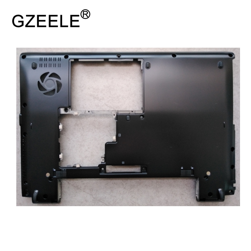 GZEELE New Laptop Bottom Base Case Cover for Toshiba for Portege R930 R935 Base Chassis D Case shell lower case black new for lenovo ideapad yoga 13 bottom chassis cover lower case base shell orange w speaker l