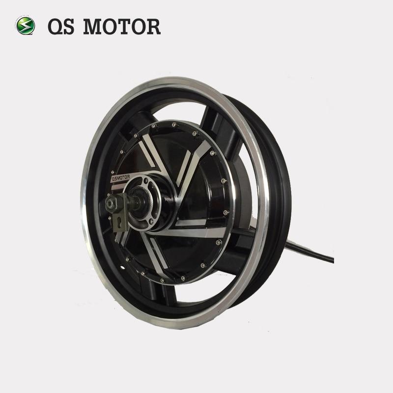 16inch 4kW 273 45H V3 48V 72v Brushless DC Electric Scooter Wheel Hub Motor QS MOTOR Electric hub motor