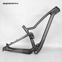 27 5er Plus Full Suspension MTB Frame Boost Bikes Carbon Frame 650b Full Carbon MTB