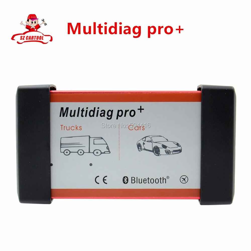 ФОТО 2016 New SW V2014.3 Multidiag pro with Bluetooth for Cars/Trucks OBD2 Multi Diag pro Plus new design powerful Multi-diag pro