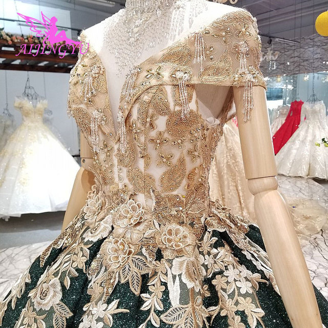 AIJINGYU Spanish Wedding Dress Gowns engagement Turkish Sexy Plus Size 26 Short Bridal Gown Design Dresses To Wear To A Wedding