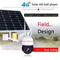Smartyiba солнечной 960 P/1080 P CCTV Камера SIM Wi Fi HD видео наблюдения P2P Ночное Видение безопасности Камера 4G Солнечный HD мяч игрок