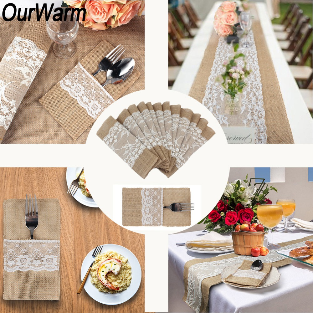 OurWarm Boho Rustic Wedding Decor Invitation Card Table ...