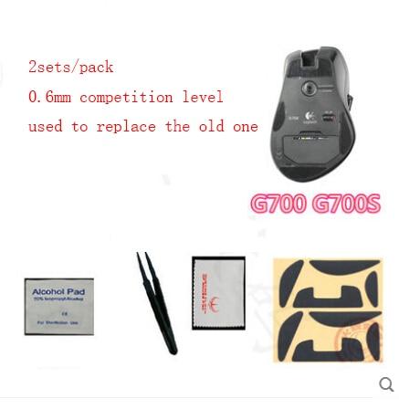 3sets Mouse Skatez Mouse Feet Mice pad for Logitech G700 G700S mouse 3M Teflon