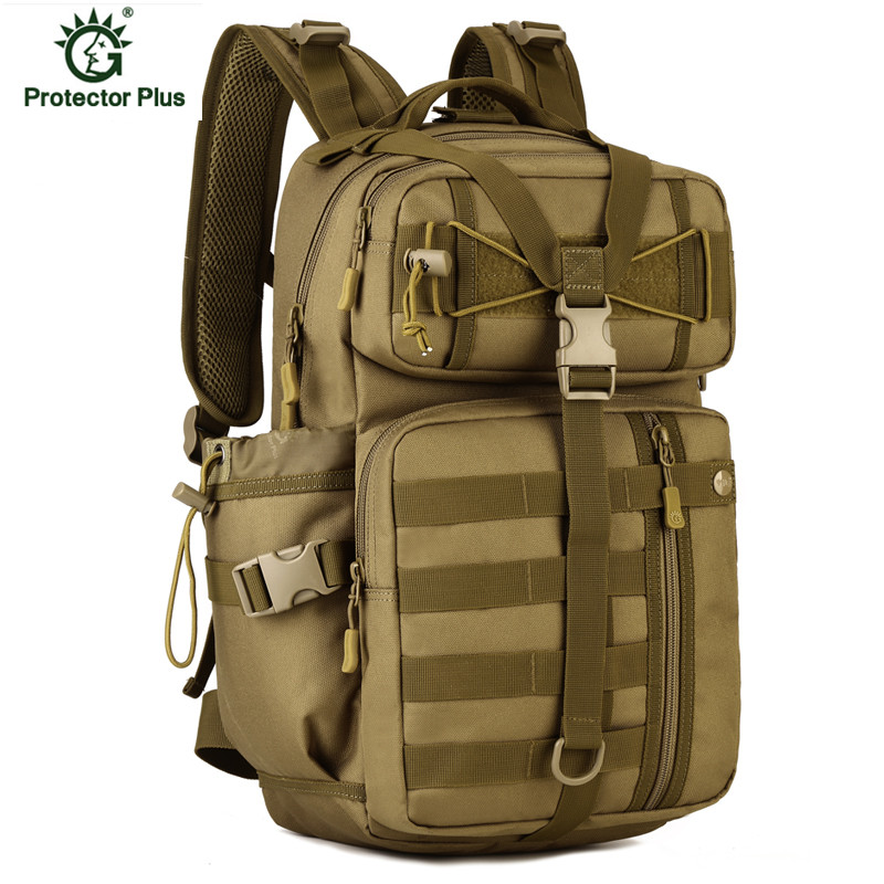 Large Capacity Travel Military Tactics Backpack Nylon Water-proof Men Multifunctional Hike Camp Camouflage Travel Bags Mochila waterproof military tactics molle backpack multifunctional men backpack rucksack for hike trek camouflage travel backpacks h85
