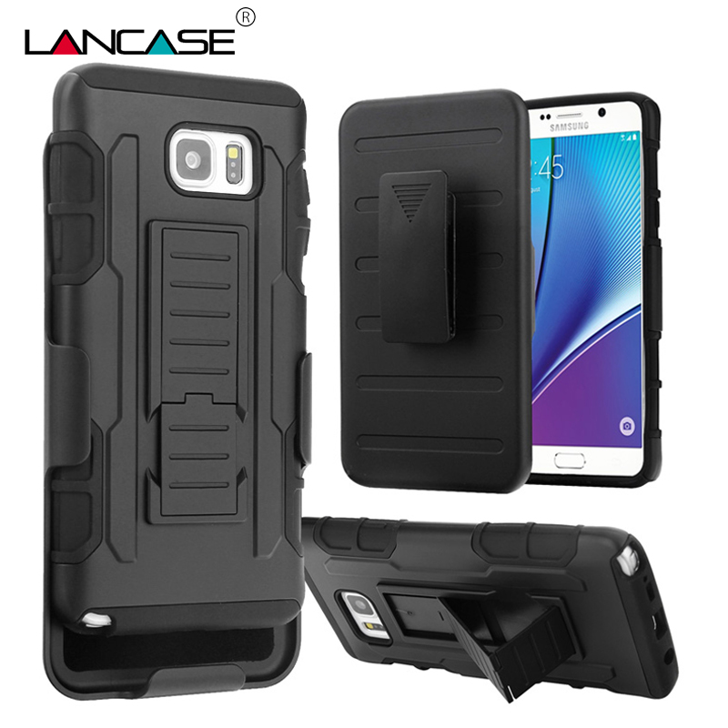 LANCASE For Samsung S7 Edge Case Belt Clip Holster Stand Cover For Samsung Galaxy S7 edge