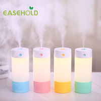 250ML Ultrasonic Humidifier USB Car Humidifier Mini Aroma Essential Oil Diffuser Aromatherapy Mist Maker Home Office