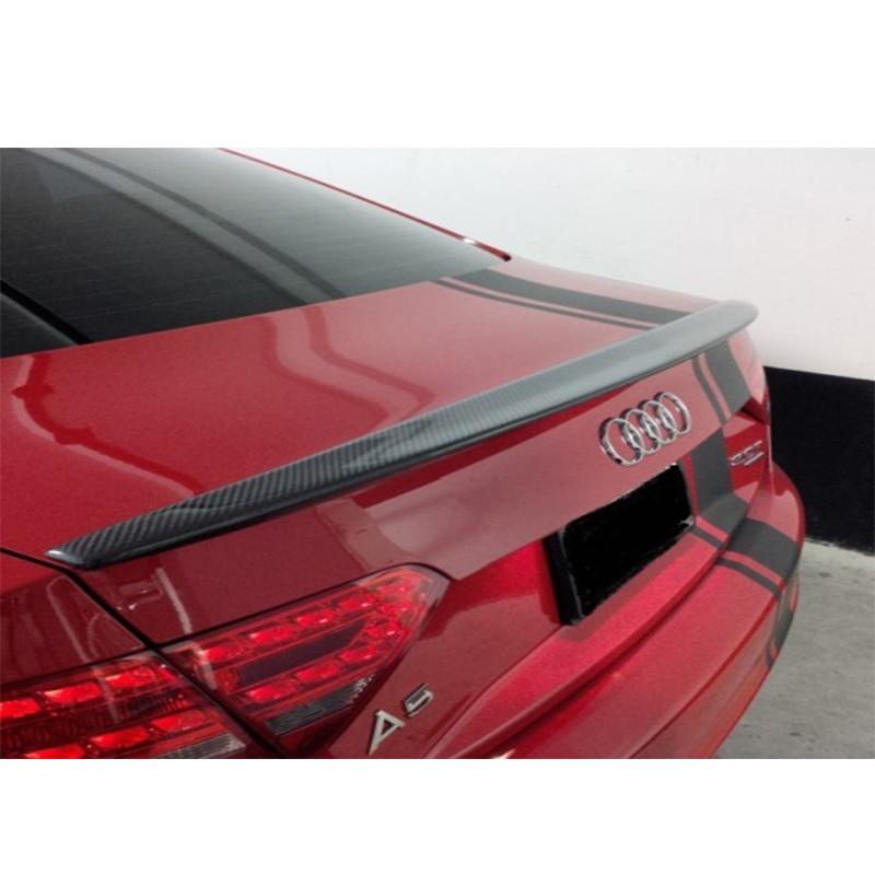A5 Sline style Carbon Fiber Rear trunk spoiler wing for Audi A5 2Door 2010~2013