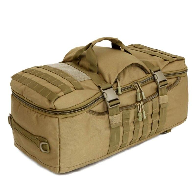 Сумки 60 л нейлон водонепроницаемый рюкзак военный 3 P рюкзак модная школьная сумка для отдыха рюкзак для ноутбука камуфляж D5