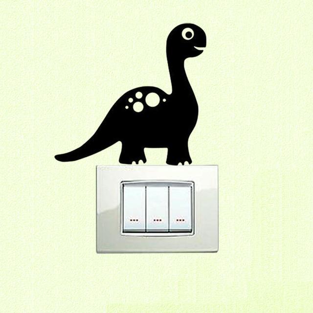 Gepersonaliseerde Dinosaurus Muursticker Dinosaurus Vinyl Childs ...