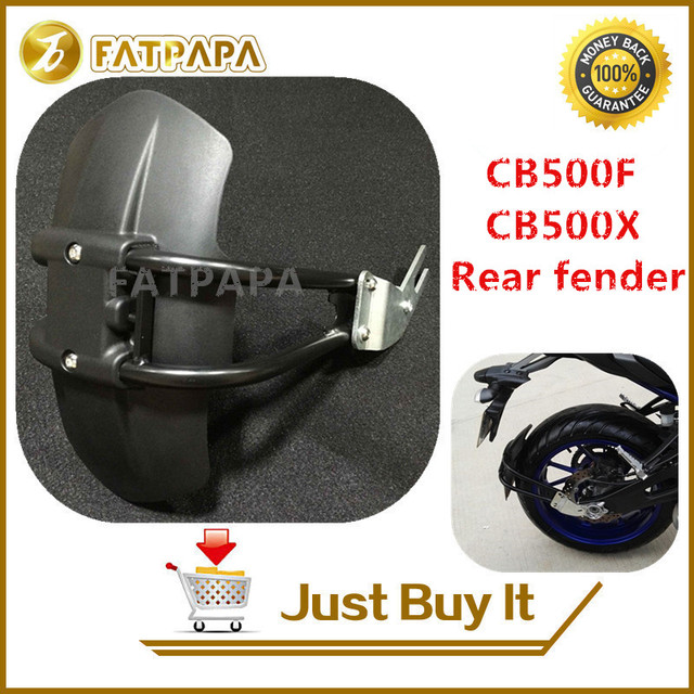 Motorcycle CNC Aluminum Accessories Rear Fender Bracket Motorbike Mudguard Fit For Honda CB500F CB500X