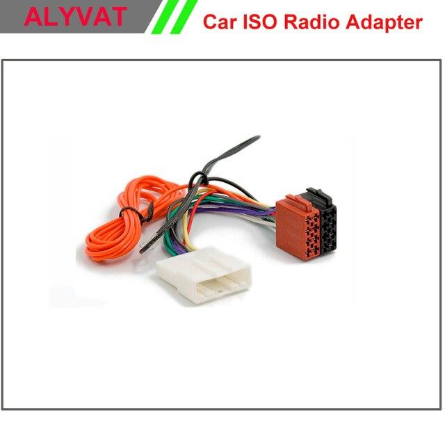 Car ISO Stereo Wiring Harness For Nissan 2007 Onwards Subaru Impreza
