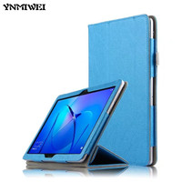 YNMIWEI Case For Huawei MediaPad T3 10 Tablet Stand Slim Cases For 9 6 Inch Honor