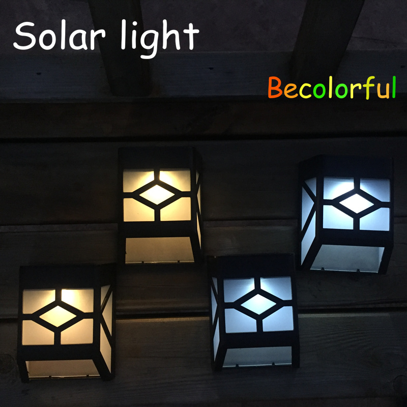Garden decoration courtyard lights Solar LED light solar fence light solar lamp outdoor