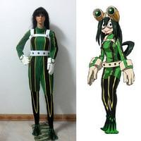 Anime My Hero Academia Asui Tsuyu Boku No Hero Academia Cosplay Costume Customize