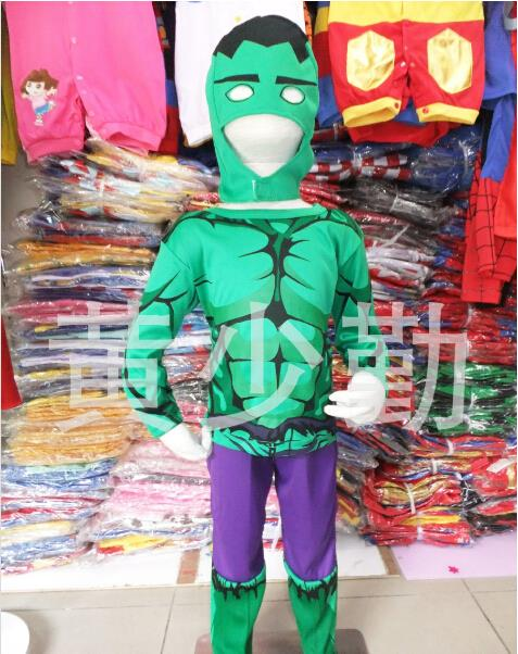 new 2015 christmas halloween costumes children marvel comics muscle hulk suit kids cosplay costume boys girls sets gift clothes in clothing sets from mother