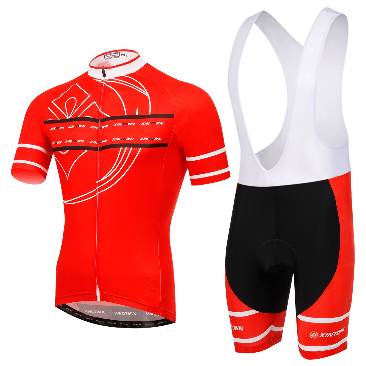 Breathable Red Cycling Jersey Bike Clothing Mountain Bicycle Jerseys Racing Ropa Ciclismo GEL Pad Cycle Wear Bib Sets women s long cycling clothing mountain bike kit reflective cycle jersey