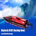 H101 skytech rc racing barco 2.4g 180 grados flip de alta velocidad eléctrico de juguete de control remoto para los lagos y al aire libre aventura