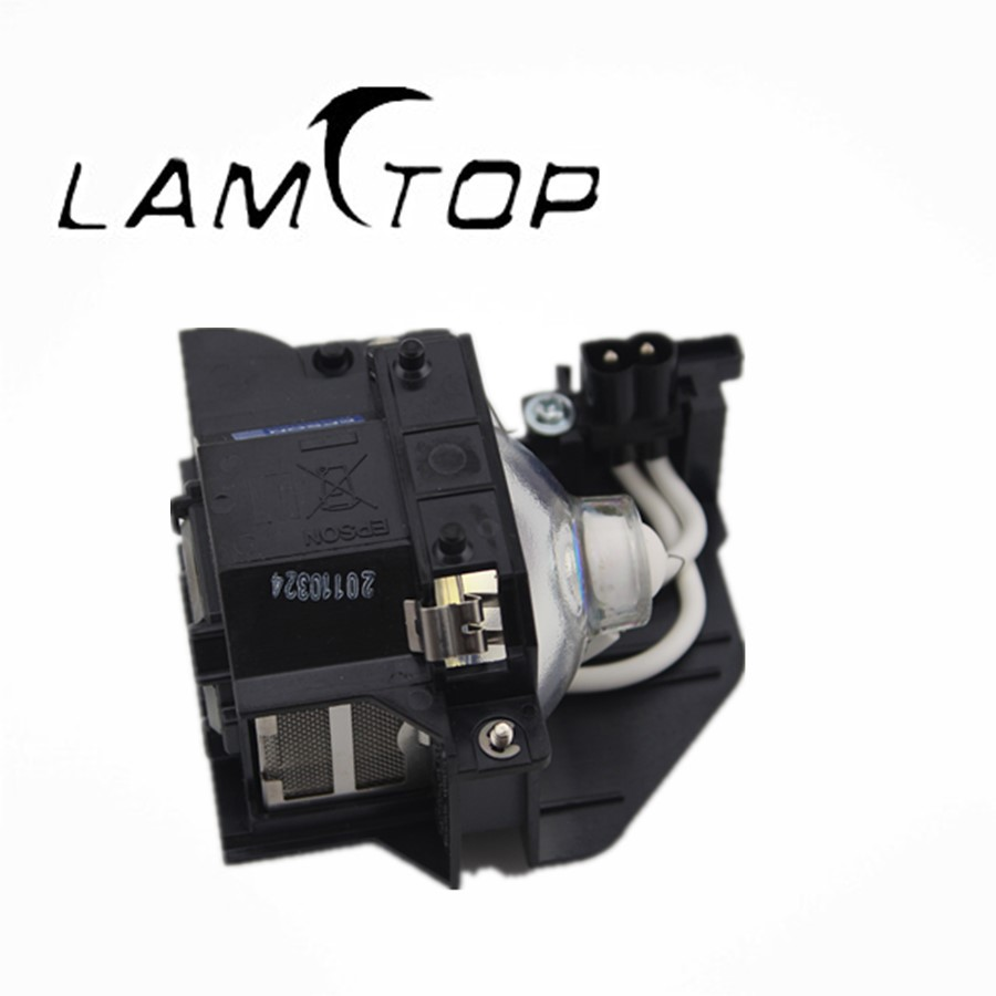 FREE SHIPPING  LAMTOP  180 days warranty  projector lamps with housing NSHA ELPLP44/V13H010L44  for  EMP-DM2 free shipping lamtop 180 days warranty projector lamps with housing elplp44 v13h010l44 for emp de1